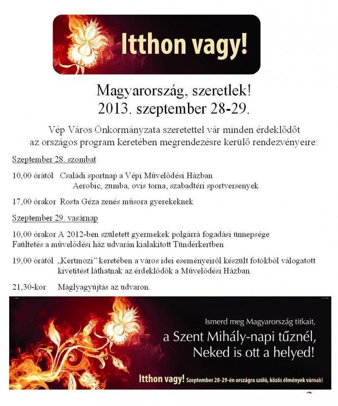 5eefcad23e Itthon vagy! Magyarország, szeretlek!